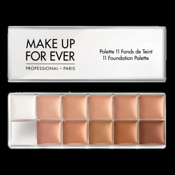 11 Foundation Palette