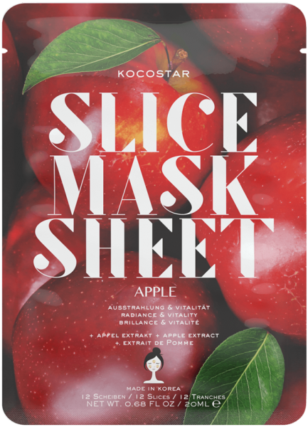 Apple Slice Mask Sheet