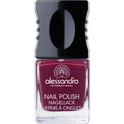 Nagellack Midnight Red