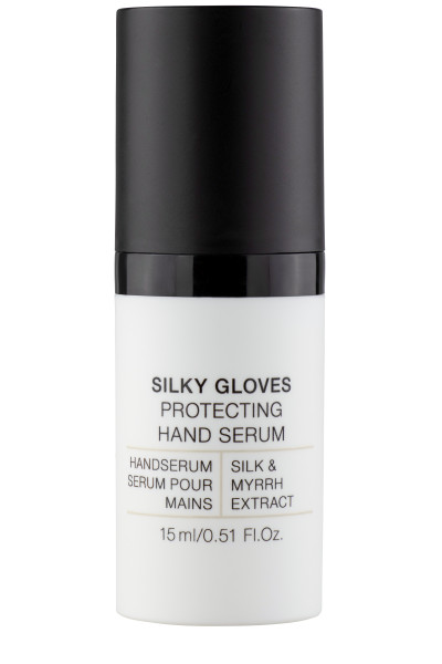 Silky Gloves Protecting Handserum