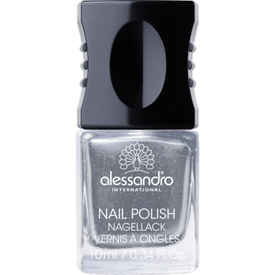 Nagellack Silver